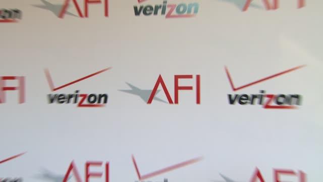 atmosphere signage at the 14th annual afi awards at the four seasons hotel los angeles at beverly hills 01/10/14 - afi awards bildbanksvideor och videomaterial från bakom kulisserna