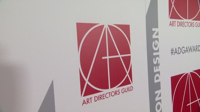ATMOSPHERE signage at the 19th Annual Art Directors Guild Excellence In Production Design Awards at The Beverly Hilton Hotel on January 31 2015 in...