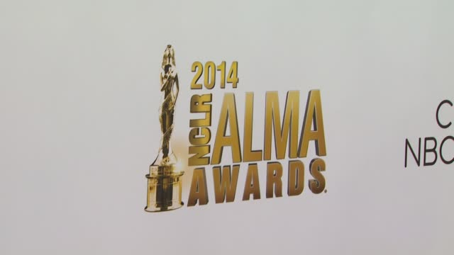 atmosphere signage at the 2014 nclr alma awards at pasadena civic auditorium on october 10 2014 in pasadena california - pasadena civic auditorium stock-videos und b-roll-filmmaterial