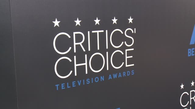 signage at the 2015 critics' choice television awards at the beverly hilton hotel on may 31, 2015 in beverly hills, california. - critic stock videos & royalty-free footage