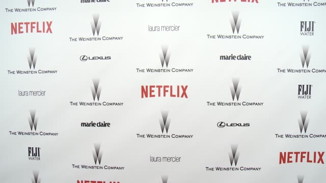 ATMOSPHERE signage at the 2015 Weinstein Company And Netflix Golden Globe After Party at Robinsons May Lot on January 11 2015 in Beverly Hills...