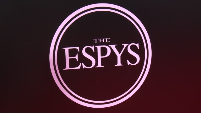 vídeos de stock, filmes e b-roll de atmosphere signage at the 2016 espy awards at microsoft theater on july 13 2016 in los angeles california - espy awards