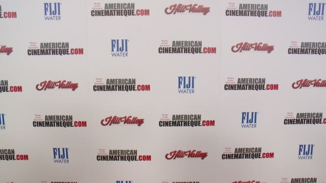 atmosphere signage at the 29th annual american cinematheque award presented to reese witherspoon at the hyatt regency century plaza on october 30... - american cinematheque stock videos & royalty-free footage