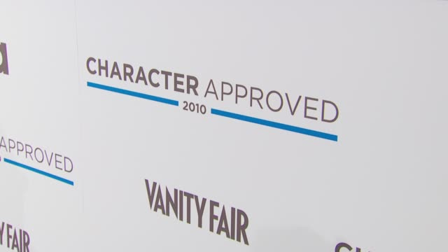 Signage at the 2nd Annual Character Approved Awards Cocktail Reception at New York NY
