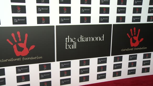 ATMOSPHERE signage at the 2nd Annual Diamond Ball at Barker Hangar on December 10 2015 in Santa Monica California