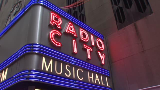 signage at the 64th Annual Tony Awards at New York NY