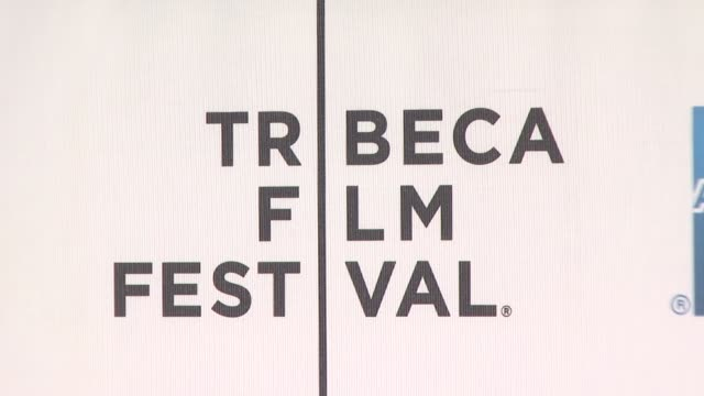 "signage at the 7th annual tribeca film festival - ""tennessee"" premiere at borough of manhattan community college / tribeca performing arts in new... - community college stock videos & royalty-free footage"