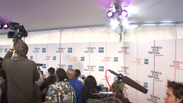 signage at the 7th annual tribeca film festival tennessee premiere at borough of manhattan community college / tribeca performing arts in new york... - community college stock videos & royalty-free footage