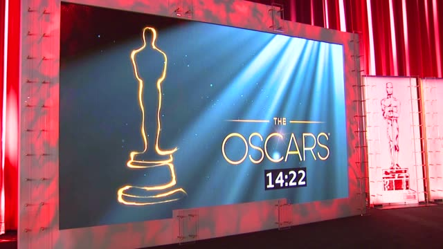 vidéos et rushes de atmosphere signage at the 85th academy awards nominations announcement in beverly hills 01/10/13 85th academy awards nominations announcement at... - academy of motion picture arts and sciences