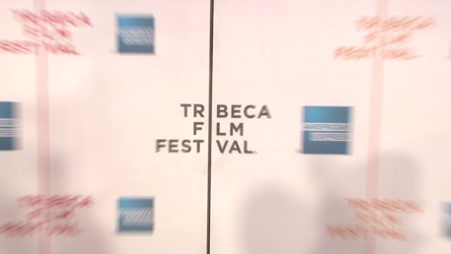 signage at the 90 miles the documentary premiere at the 7th annual tribeca film festival at the borough of manhattan community college / tribeca... - community college stock videos & royalty-free footage