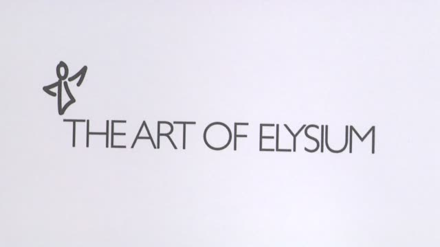 Signage at the Art Of Elysium's 4th Annual 'Heaven' Charity Gala at Los Angeles CA