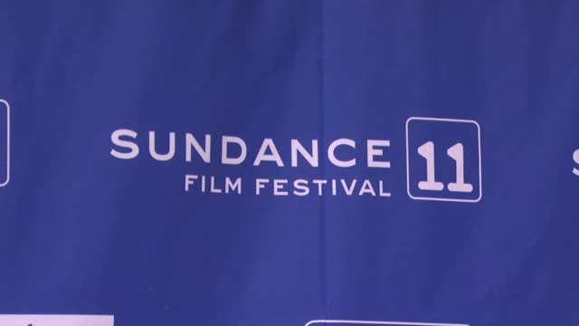 signage at the atmosphere 2011 sundance film festival at park city ut - park city stock videos & royalty-free footage