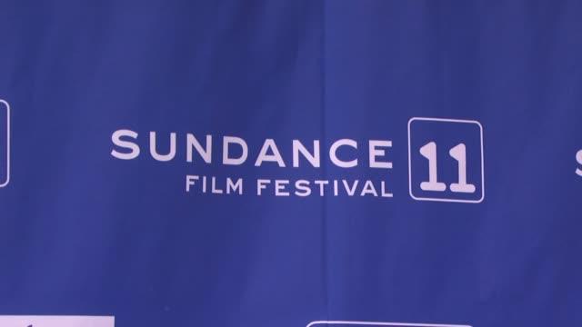 Signage at the Atmosphere 2011 Sundance Film Festival at Park City UT