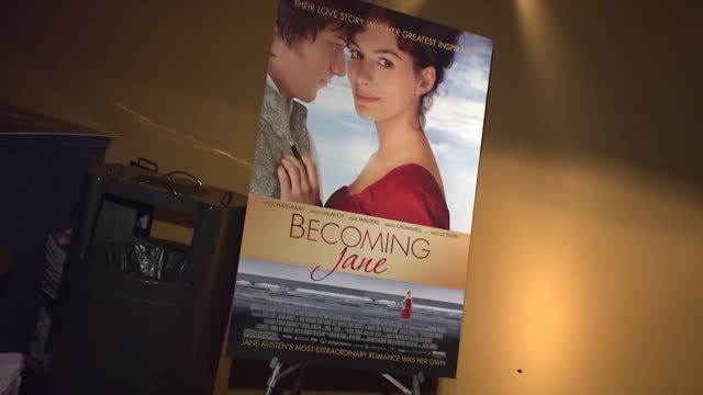 Signage at the 'Becoming Jane' New York Premiere at Landmark's Sunshine Theatre in New York New York on July 24 2007
