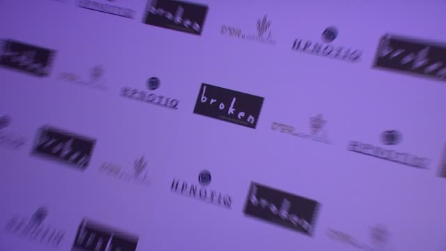 signage at the 'broken' premiere and after party at d'or at amalia in new york new york on october 2 2007 - dor stock videos & royalty-free footage