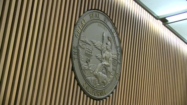 signage at the chris brown court hearing at clara shortridge foltz criminal justice center on may 01, 2014 in los angeles, california. - criminal stock videos & royalty-free footage