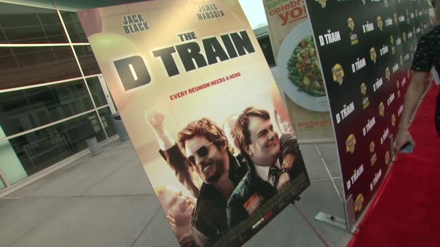 atmosphere signage at the d train los angeles premiere at arclight cinemas on april 27 2015 in hollywood california - arclight cinemas hollywood stock videos and b-roll footage