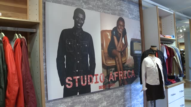 ATMOSPHERE Signage at the DIESEL EDUN Studio Africa Event At Ron Herman With Advocate Solange ATMOSPHERE Signage at the DIESEL EDUN Studio at Ron...