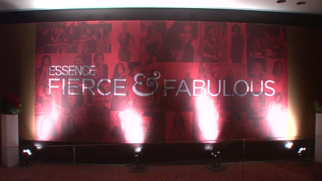 Signage at the Essence Magazine 40th Anniversary Fierce Fabulous Awards Luncheon at New York NY