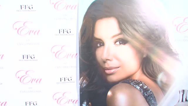 signage at the Eva Longoria Parker Fragrance Launch Party For 'Eva' at Hollywood CA