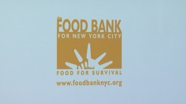 Signage at the Food Bank For New York City's 25th Anniversary and 5th Annual CanDo Awards Dinner at Abigail Kirsch's Pier Sixty at Chelsea Piers in...