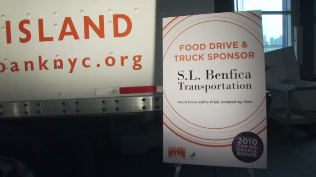 Signage at the Food Bank for New York City's 8th Annual CanDo Awards Dinner at New York NY