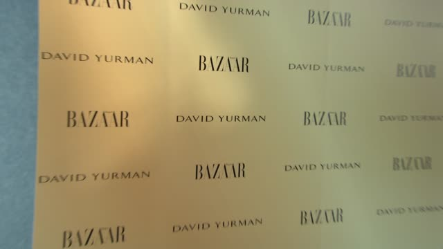 "signage at the harper's bazaar celebrates peter lindbergh and holly fisher's new film ""everywhere at once"" at borough of manhattan community college... - community college stock videos & royalty-free footage"