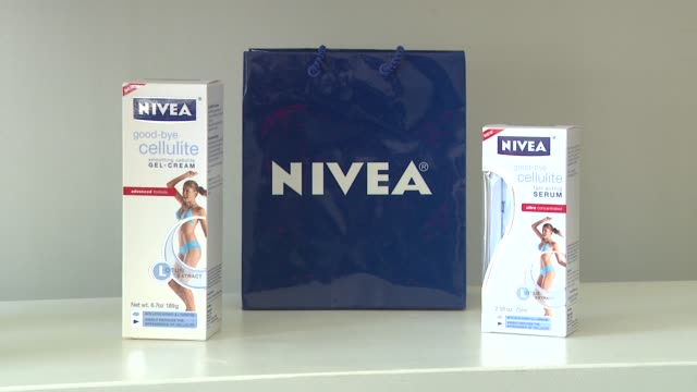 Signage at the Khloe Kardashian Odom Reveals Results Of The 2011 NIVEA GoodBye Cellulite Hello Bikini Challenge at Los Angeles CA