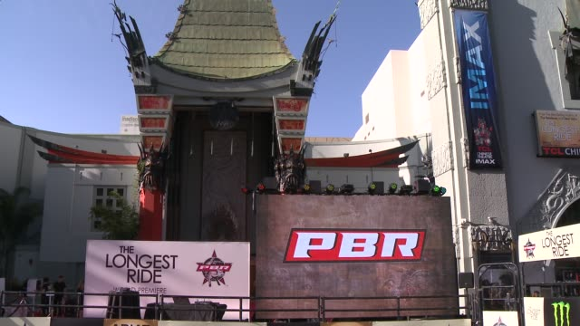 ATMOSPHERE signage at The Longest Ride Los Angeles Premiere at TCL Chinese Theatre on April 06 2015 in Hollywood California