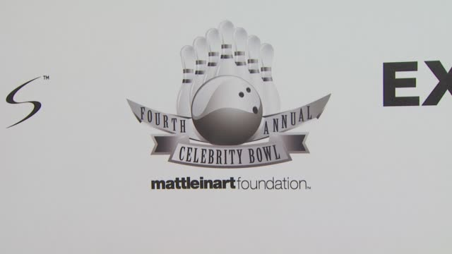 signage at the Matt Leinart's Fourth Annual 'Bowling With The Stars' Event at Hollywood CA