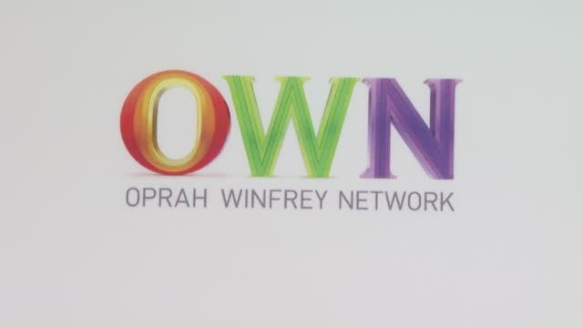 Signage at the OWN Oprah Winfrey Network Launch Cocktail Reception For The Television Critics Association Winter Press Tour at Pasadena CA