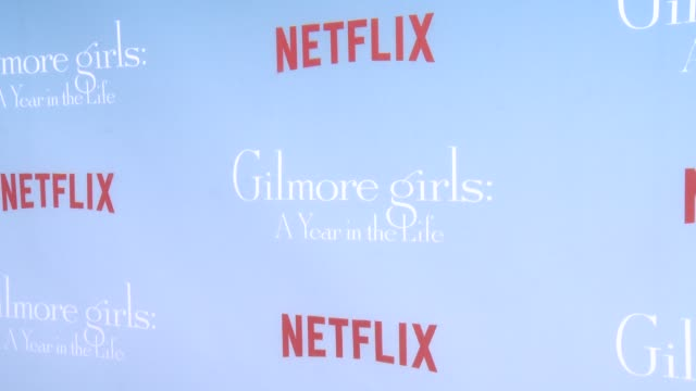 ATMOSPHERE signage at the Premiere of Netflix's Gilmore Girls A Year In The Life at Regency Bruin Theater on November 18 2016 in Westwood California