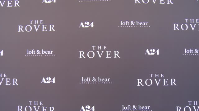 atmosphere signage at the rover los angeles premiere at regency bruin theatre on june 12 2014 in los angeles california - regency style stock videos and b-roll footage