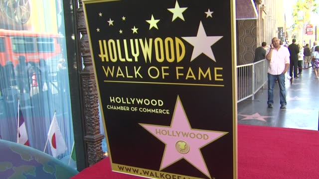 signage at the sissy spacek to be honored with star on the hollywood walk of fame at hollywood ca. - sissy spacek stock videos & royalty-free footage