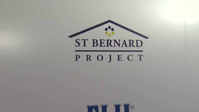 Signage at the Southern Style St Bernard Project Event With Ambassador Britney Spears at Beverly Hills CA