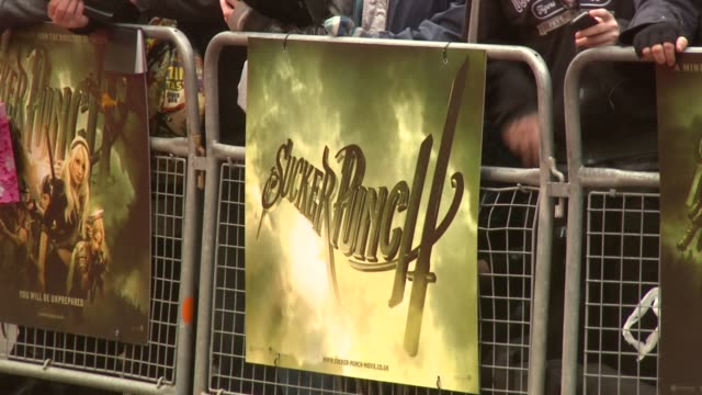 ATMOSPHERE Signage at the Sucker Punch UK Premiere at London England