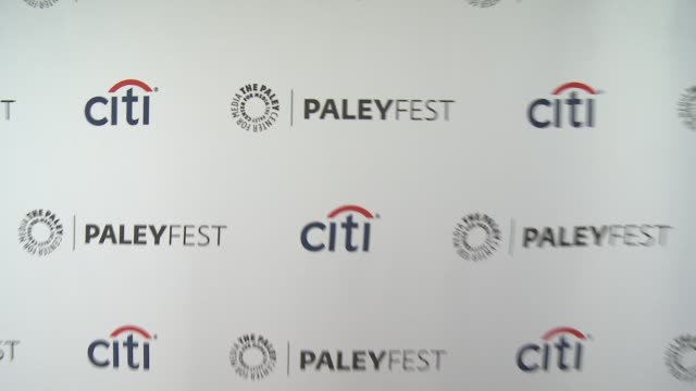 """signage at the """"veep"""" panel - paleyfest 2014 at dolby theatre on march 27, 2014 in hollywood, california. - the dolby theatre stock videos & royalty-free footage"""
