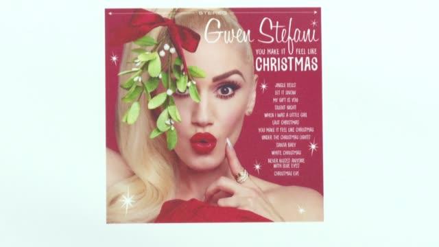 Signage for Gwen Stefani at Westfield on November 30 2017 in London England