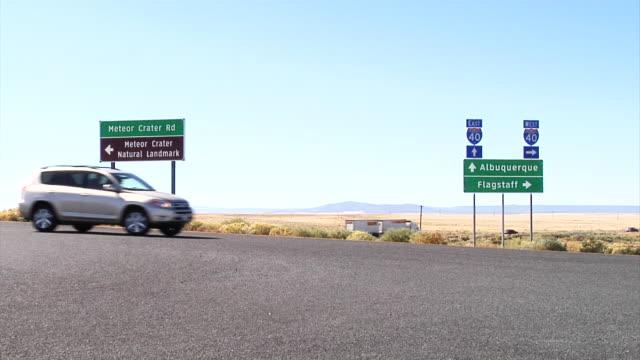 Signage on Interstate 40