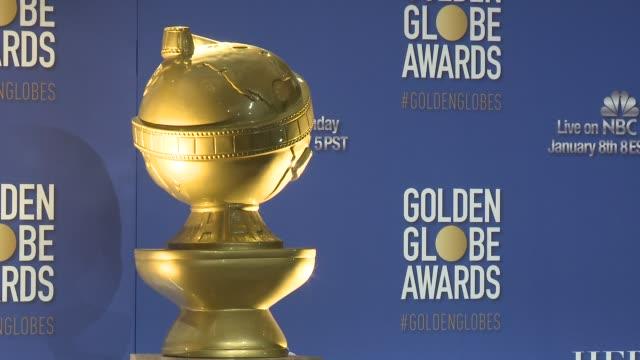 signage the nominations announcement for the 74th annual golden globe awards at the beverly hilton hotel on december 12, 2016 in beverly hills,... - atmosfär råmaterial bildbanksvideor och videomaterial från bakom kulisserna