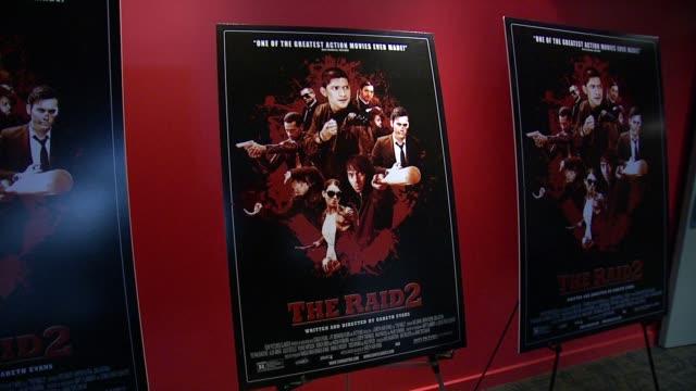 "signage ""the raid 2"" new york screening at sunshine landmark on march 17, 2014 in new york city. - landmark sunshine theater stock videos & royalty-free footage"