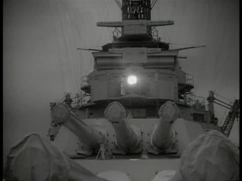 signal light on battleship flashing message , signal light flashing, morse code, naval military communication. - us navy stock videos & royalty-free footage