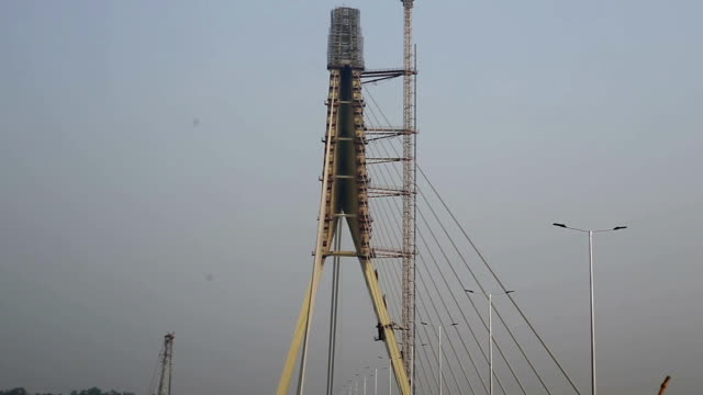 Signature Bridge (Wazirabad), Delhi