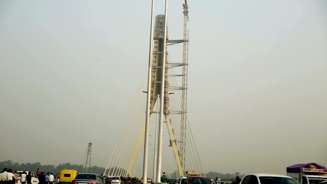 Signature Bridge (Cable-Stayed Bridge), Delhi