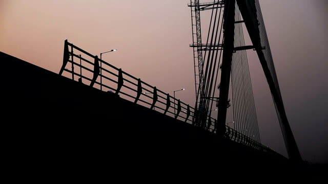 Signature Bridge (Cable-Stayed Bridge), New Delhi
