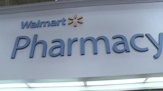 WGN Signs for a Walmart Pharmacy in Indianapolis Indiana on Jan 17 2017