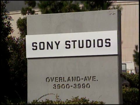 signs of sony studios columbia studios and tristar pictures - tristar pictures stock videos and b-roll footage