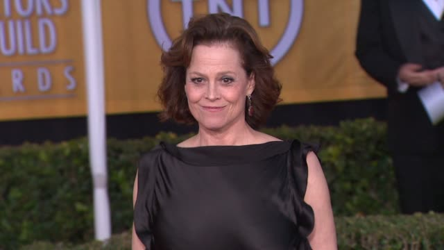 Sigourney Weaver at 19th Annual Screen Actors Guild Awards Arrivals on 1/27/13 in Los Angeles CA