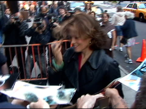 sigourney weaver at good morning america at the celebrity sightings in new york at new york ny - sigourney weaver stock videos & royalty-free footage