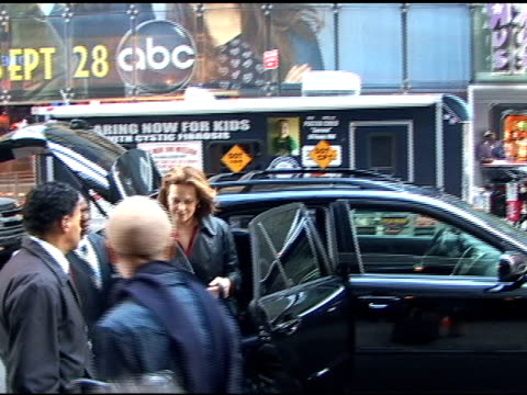 Sigourney Weaver at Good Morning America at the Celebrity Sightings in New York at New York NY